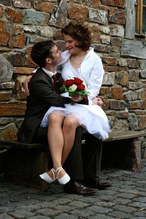 romantische Hochzeit Eifel